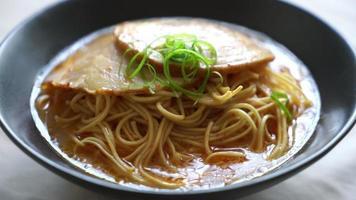 Tonkotsu Ramen Noodles video