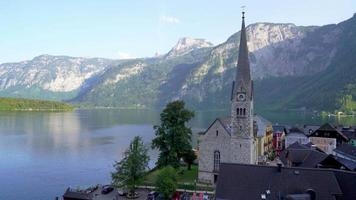 villaggio di Hallstatt in austria video