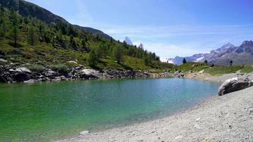 región montañosa de Matterhorn en Suiza