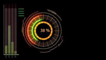 Digital meter power energy  video