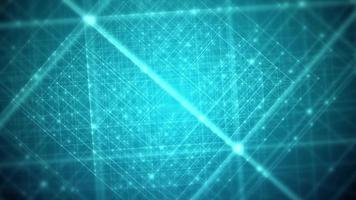 Fondo de estructura de cuadrícula verde abstracto video