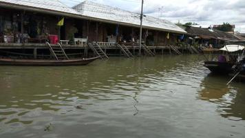 Amphawa Market Canal, the Most Famous of Floating Market video