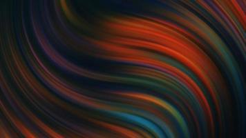 sfondo di animazione onda gradiente contorto vibrante senza soluzione di continuità video
