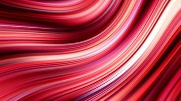Beautiful Bright Pink and Red Stripes Video Animation
