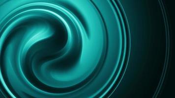 eleganter blaugrüner Kreishintergrund der abstrakten nahtlosen Schleife video