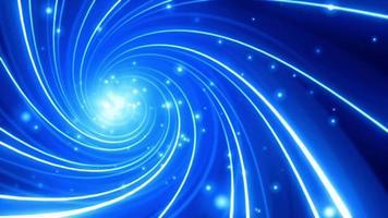 abstrakter elektrischer Wirbel