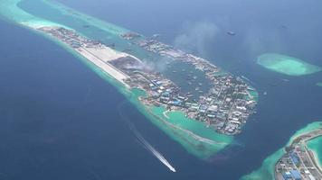 Maldive Islands Downward View video