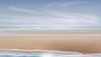 animatie zeekust achtergrond