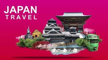 bannière de voyage au Japon video