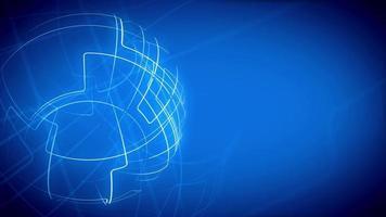 Fondo de rayos de globo abstracto