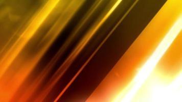 leuchtendes und orange glänzendes Licht