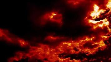 Burning Clouds Like Hell Weather