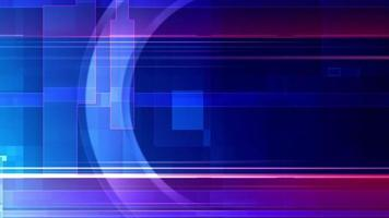 abstrait géométrique coloré video