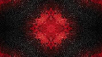 cor vermelha pulsante em textura escura video
