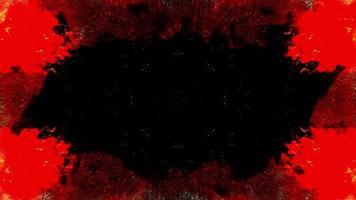 loop de fundo de terror escuro
