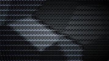 Fondo de textura futurista abstracto video