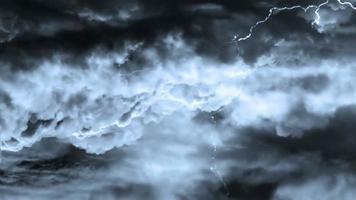 fondo de tormenta eléctrica pesada video
