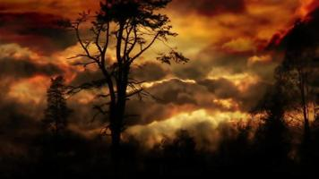 Stormy Fantasy Background