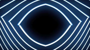 Abstract Futuristic Eye Shape Background video