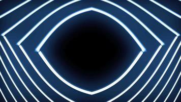 Fondo de forma de ojo futurista abstracto
