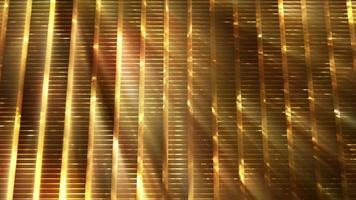Abstract Golden Grid Background