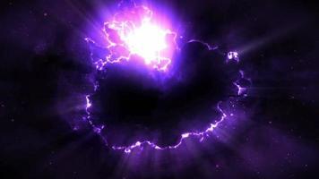 Looping Space Energy Background