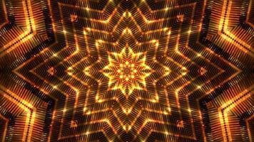 lazo de fondo dorado en forma de estrella