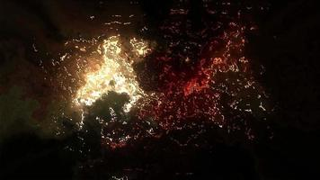 fondo abstracto de efectos brillantes video