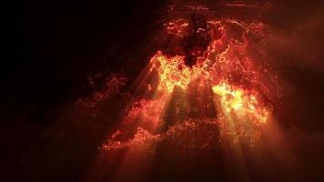 explosión de efectos de luz