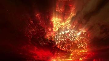 sfondo di effetti di luce esplosiva