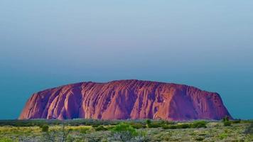 Uluru Sunrise Australia
