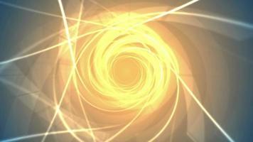 remolino abstracto de fuego video