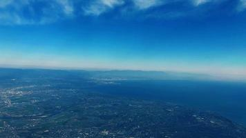 vista aerea del giappone