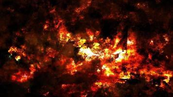 lazo de pared de fuego grunge abstracto