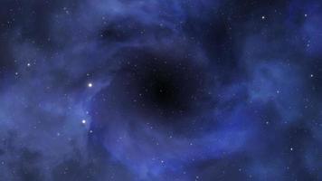 nebulosa oscura en el espacio profundo