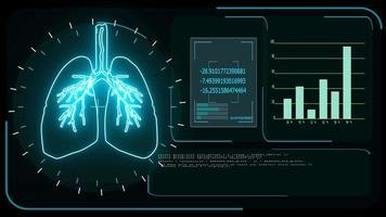 detección de coronavirus en los pulmones