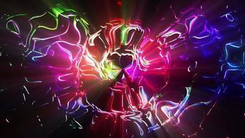 lazo de fondo colorido brillante