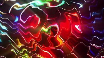 bucle colorido psicodélico abstracto