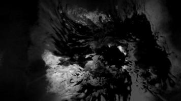 compuesto de grunge de tinta negra oscura