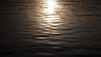 Late Evening Sun On Water Surface