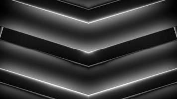 lazo de fondo de flechas futuristas oscuras
