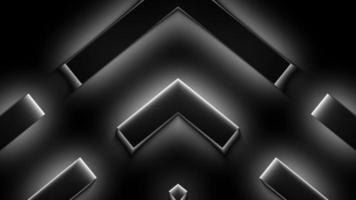 boucle de conception abstraite sombre video