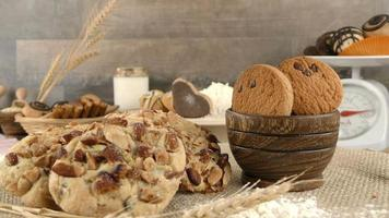 biscoitos deliciosos com açúcar video
