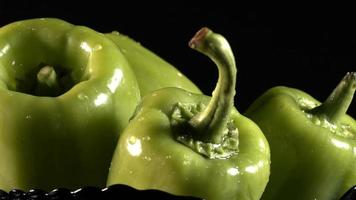 Organic Vegetable Green Pepper and Water