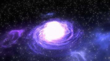 Milchstraße im Weltraum video