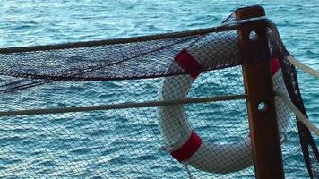 Life Buoy and Fishnets