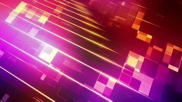 Abstract colored parallel rays background video