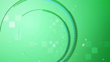 Abstract green radius background