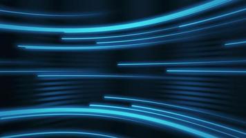 fond abstrait rayons néon bleu video