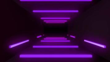 fondo de luz de neón
